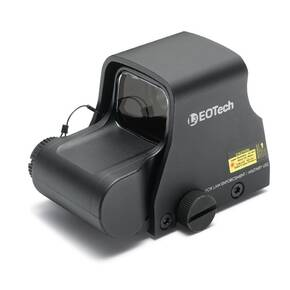 EOTech XPS3 Holographic Weapon Sight - Night Vision Compatible - -2 68 MOA Ring w/(2) 1 MOA Dots- Matte