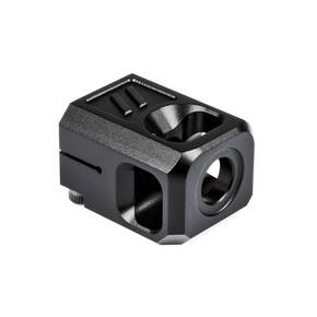 ZEV Technologies V2 PRO Compensator 1/2X28 Threading 9mm BLACK