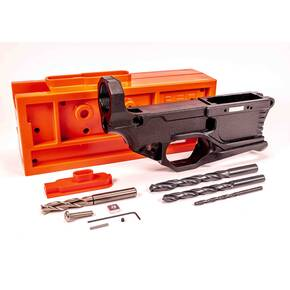 Polymer RL556v3 80% AR Lower Receiver Complete Kit - Black