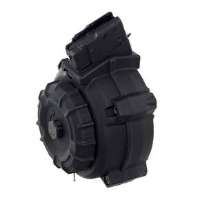 ProMag Black Polymer AK Magazine for AK-47 7.62x39mm 50/rd Drum