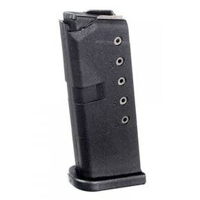 ProMag Steel Rifle Magazine Glock 43 9mm Black Polymer 6/rd
