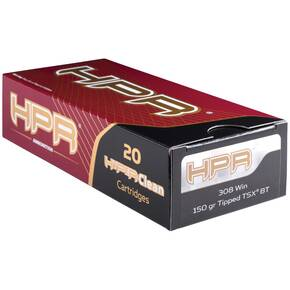 HPR Rifle Ammunition .308 Win 150 gr TTSX 2640 fps 20/ct