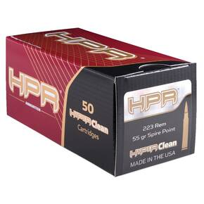HPR Rifle Bulk Ammunition .223 Rem 55 gr Spire Point 3072 fps 420/ct