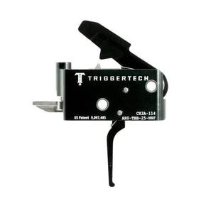 TriggerTech AR15 Black Adaptable Flat Trigger 2 Stage Adjustable