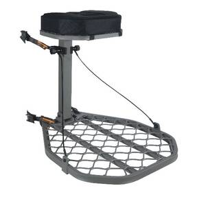 Summit Featherweight Hang-On Stand 28x23 Platform with Padded Seat Cushion