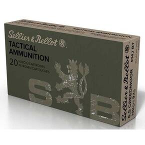 Sellier & Bellot Tactical Rifle Ammunition 6.5 Creedmoor 140 gr FMJBT 2542 Fps 20/ct