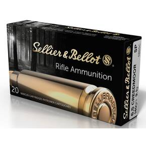 Sellier & Bellot Rifle Ammunition 6.5 Creedmoor 131 gr SP 2740 fps 20/ct