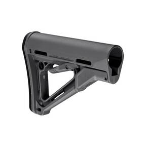 Magpul  CTR Stock  Fits AR-15  Mil-Spec  Gray Finish MAG310-GRY