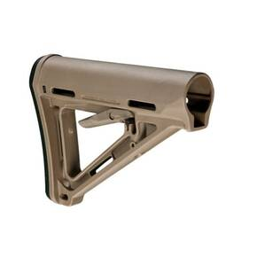 Magpul  MOE Carbine Stock  Fits AR-15  Mil-Spec  Flat Dark Earth Finish MAG400-FDE