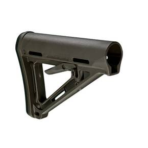 Magpul  MOE Carbine Stock  Fits AR-15  Mil-Spec  OD Green Finish MAG400-OD