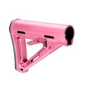 Magpul  MOE Carbine Stock  Fits AR-15  Mil-Spec  Pink Finish MAG400PNK