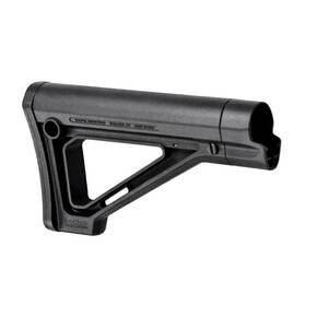 Magpul  MOE Fixed Carbine Stock  Fits AR Rifles  Non Mil-Spec  Black MAG481-BLK