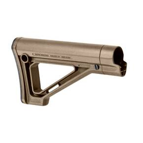 Magpul  MOE Fixed Carbine Stock  Fits AR Rifles  Non Mil-Spec  Flat Dark Earth MAG481-FDE