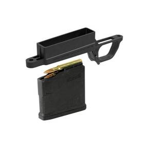 Magpul Bolt Action Magazine Well Standard for Hunter 700L Stock  Includes (1) PMAG 5 AC L Standard  Black MAG489BLK