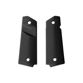 Magpul  Grip Panels  1911  Government  Magazine Release Cut Out  Black MAG524-BLK