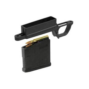 Magpul Bolt Action Magazine Well Magnum for Hunter 700L Stock  Includes (1) PMAG 5 AC L Magnum  Black MAG569BLK