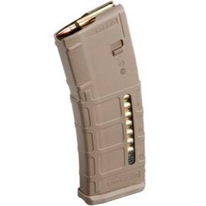 Magpul PMAG 30 AR/M4 GEN M2 MOE WINDOW Magazine 5.56X45mm NATO 30/rd Dark Earth Polymer MAG570-FDE