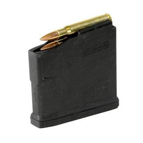 Magpul PMAG 5 AC L MAGNUM AICS STANDARD Long Action Magazine Fits Hunter 700L Stock Black Polymer MAG671-BLK